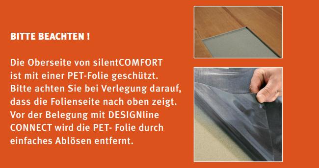 wineo akustikmatte silentcomfort 1 5mm laminat. Black Bedroom Furniture Sets. Home Design Ideas