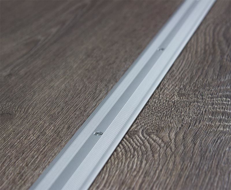 flex abschlu profil metall silber 270cm laminat. Black Bedroom Furniture Sets. Home Design Ideas