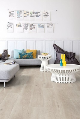 Quick-Step Laminat Largo Long Island Eiche hell LHD