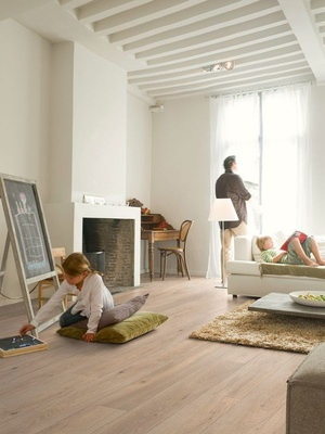 Quick-Step Laminat Largo Long Island Eiche natur LHD