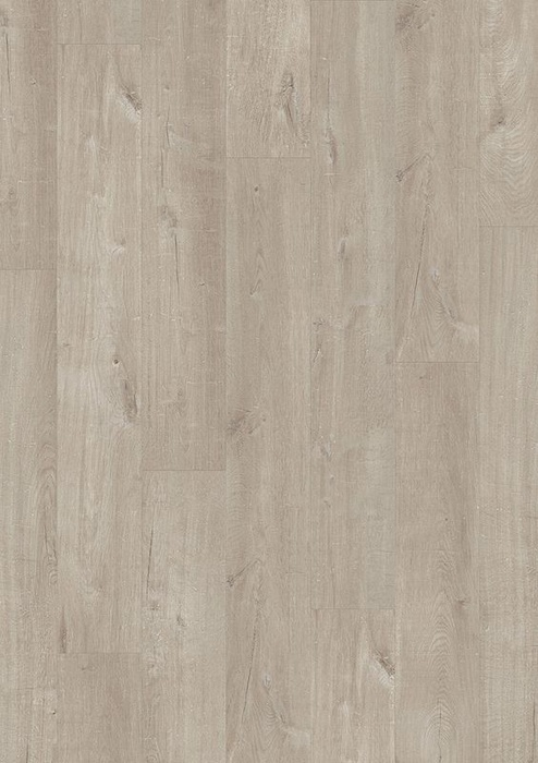 quick step livyn pulse click eiche baumwolle warmes grau laminat. Black Bedroom Furniture Sets. Home Design Ideas