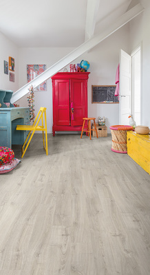 Quick-Step Laminat Eligna Newcastle Eiche grau