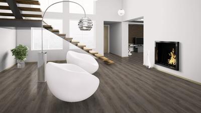 Fußbodenbelag Xl ~ Wineo vinyl designboden 400 wood xl valour oak smokey klickvinyl