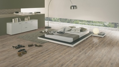 Wineo Vinyl Designboden 400 Wood Embrace Oak Grey Multilayer