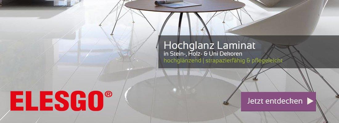 Hochglanz Laminat